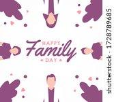 world families day vector...   Shutterstock .eps vector #1728789685