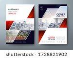 annual report brochure flyer... | Shutterstock .eps vector #1728821902