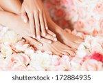beaty and healthcare   closeup...   Shutterstock . vector #172884935