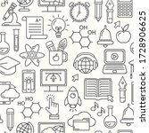 online education seamless...   Shutterstock . vector #1728906625