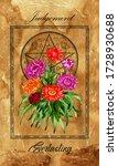 judgement. major arcana tarot...   Shutterstock . vector #1728930688