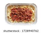 spaghetti bolognese in...