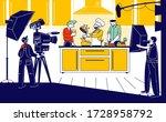 culinary program  show or blog...   Shutterstock .eps vector #1728958792