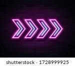 futuristic sci fi modern neon...   Shutterstock .eps vector #1728999925