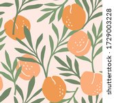vector seamless pattern with... | Shutterstock .eps vector #1729003228