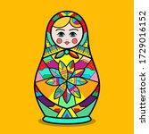 Russian Nesting Doll. Russia...