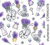 Handmade Seamless Pattern With...