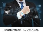 time  business and new... | Shutterstock . vector #172914326