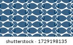 cute fiches seamless background ... | Shutterstock .eps vector #1729198135
