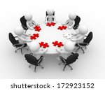 3d people   man  person at a...   Shutterstock . vector #172923152