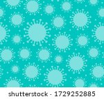 seamless pattern of blue... | Shutterstock .eps vector #1729252885