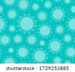 seamless pattern of blue... | Shutterstock .eps vector #1729252885