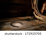American West Rodeo Rusty Old...
