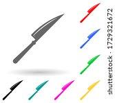 kitchen knife multi color style ...