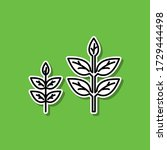 green energy source sticker...