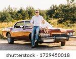 Buick Riviera In Retro Style....