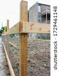 Wood Fence Hammer Nail Corner