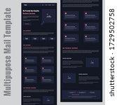 latest multipurpose corporate... | Shutterstock .eps vector #1729502758
