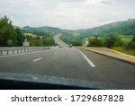 Beautiful Motorway Scenery In A ...
