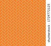 subway tile seamless pattern  ... | Shutterstock . vector #1729772125