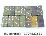 Old Bakelite Dominoes Tiles...
