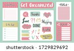 signs and symbols for organized ...   Shutterstock .eps vector #1729829692