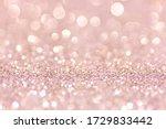 Defocused Abstract Pink Twinkle ...