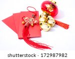 isolated chinese new year... | Shutterstock . vector #172987982