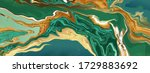 green emerald marble and gold... | Shutterstock .eps vector #1729883692