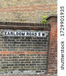 Small photo of Earldom Road Sign SW london