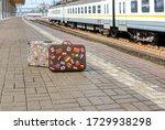 Forgotten Traveler's Suitcase...