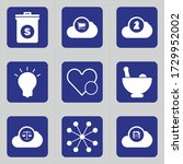 Set Of 9 Icons Such As Suitcas...