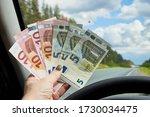 Euro Banknotes Of Various...