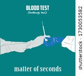 swab tests and covid 19...   Shutterstock .eps vector #1730053582