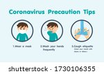 coronavirus covid 19 ... | Shutterstock .eps vector #1730106355