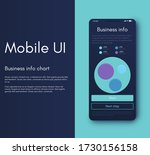 mobile application infographic...