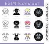 psychological problem icons set....   Shutterstock .eps vector #1730312272
