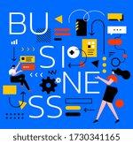 vector creative illustration of ... | Shutterstock .eps vector #1730341165