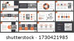 presentation templates ... | Shutterstock .eps vector #1730421985