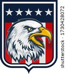 american redoubtable  eagle... | Shutterstock .eps vector #1730428072