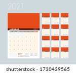 Monthly Planner For 2021 Year....