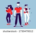 vector creative illustration of ... | Shutterstock .eps vector #1730470012