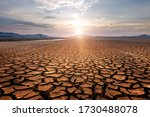 Global Warming Concept . Dry...