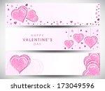 website header or banner set...   Shutterstock .eps vector #173049596