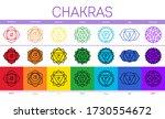 chakras  muladhara ...   Shutterstock .eps vector #1730554672
