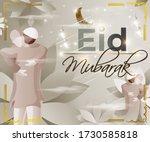 vector illustration of greeting ... | Shutterstock .eps vector #1730585818