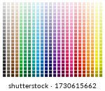 Color Palette With Every Hue...