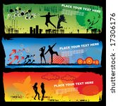 grunge banners. to see more... | Shutterstock .eps vector #17306176