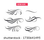 set of text delimiters for your ... | Shutterstock .eps vector #1730641495