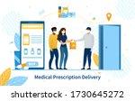 online purchase of medication... | Shutterstock .eps vector #1730645272